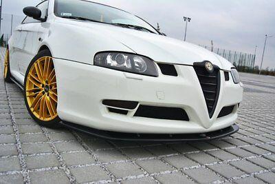 Cup Spoilerlippe SCHWARZ für Alfa Romeo 4C Frontspoiler Spoilerschwert Spoiler