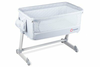 BABY Crib Bedside Cot bed Lionelo Theo Mattress Mosquito Next to Me From Birth