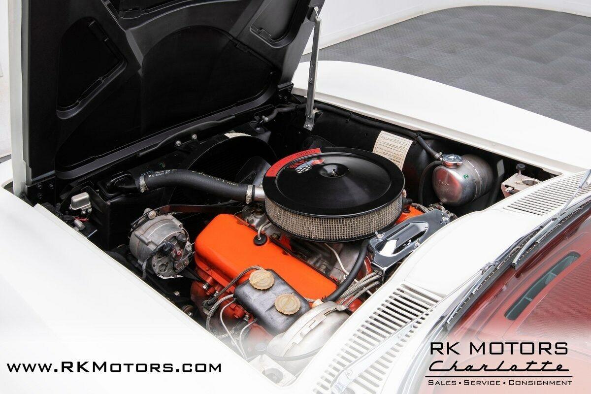 1965 White Chevrolet Corvette   | C2 Corvette Photo 4