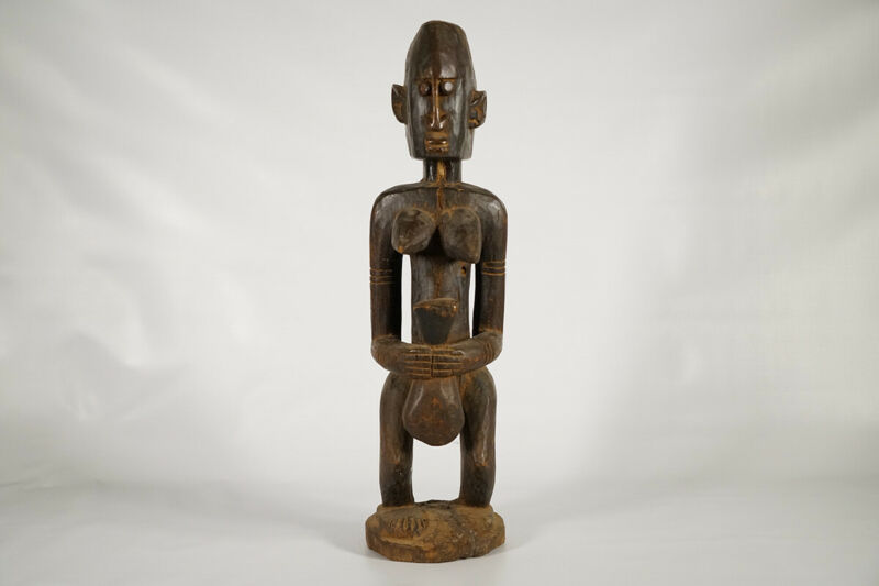 Attractive Female Dogon Figure 25"