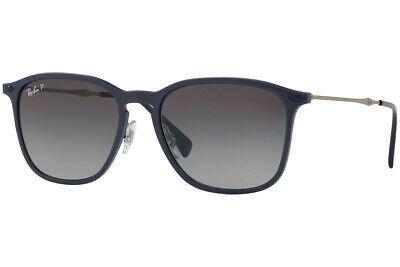 POLARIZED New RAY-BAN Tech GRAPHENE ULTRA LIGHT Blue Sunglasses RB 8353 6353T3