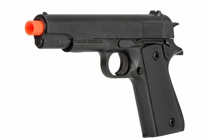 P2003 Spring Power 6mm 1911 Airsoft Pistol Gun with .12 gram BBs