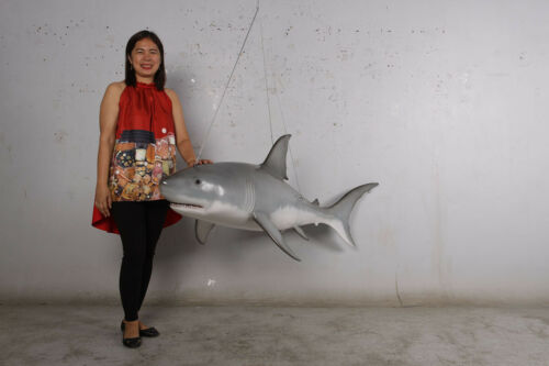 Great white shark  6ft. replica