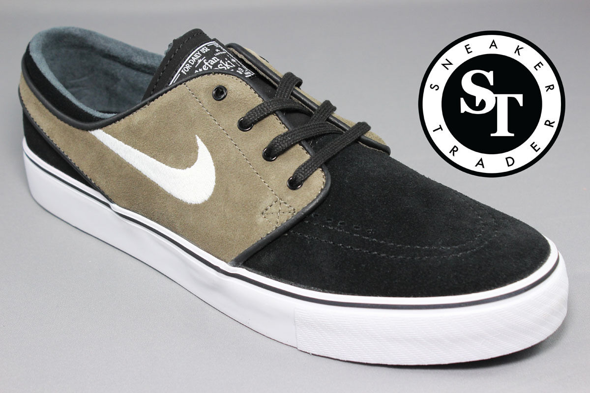 Nike Zoom Stefan Janoski Sb 333824-090 Black White Dark Dune Size: 11