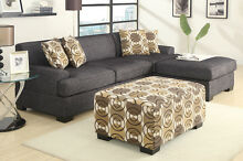 NEW LINEN SOFA COUCH LOUNGE WITH CHAISE FAST & FREE DELIVERY Burleigh Heads Gold Coast South Preview