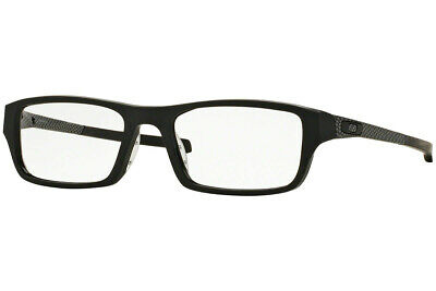 Authentic OAKLEY CHAMFER MACHINIST OX8039 - 1353 Eyeglasses Black *NEW* 53mm