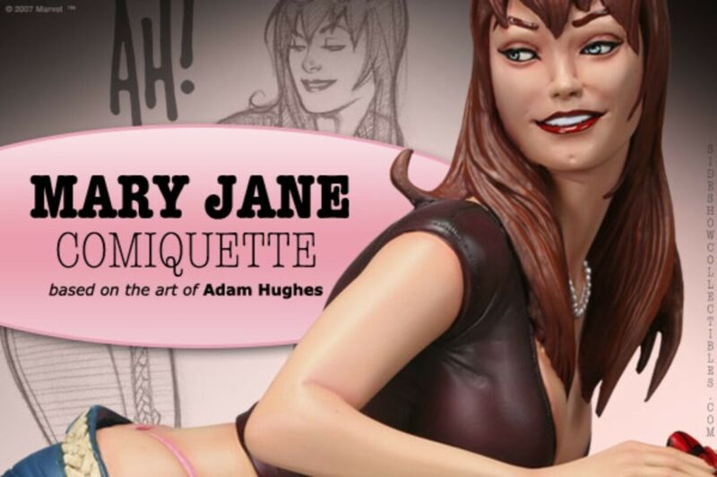 Mary Jane Comiquette Item #6818 Sideshow Collectibles NEW IN BOX#1521/2000 NIB