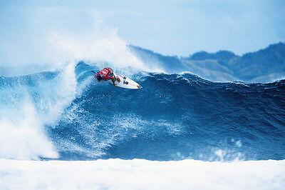 "Andy Irons surfing in Fiji 8x12"" Photo by Pete Frieden"