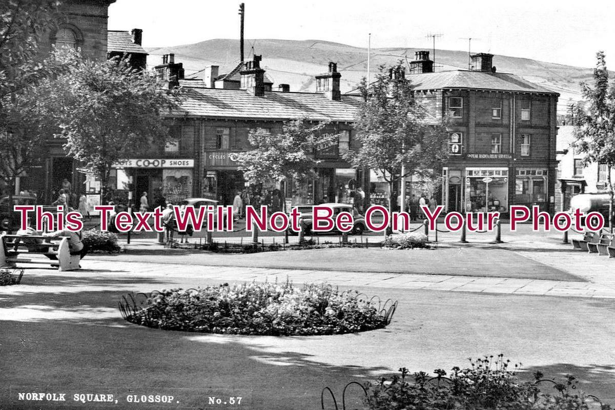 DR 1080 - Norfolk Square, Glossop, Derbyshire