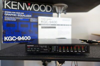 Vintage Kenwood KGC-9400 Graphic Equalizer EQ Spectrum Analyzer Old School Rare
