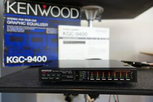 Vintage-Kenwood-KGC-9400-Graphic-Equalizer-EQ-Spectrum-Analyzer-Old-School-Rare