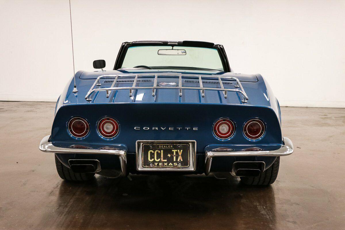 1970 Blue Chevrolet Corvette Stingray  | C3 Corvette Photo 8