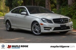 2014 Mercedes-Benz C-Class - BC CAR, AWD, NAVIGATION, LEATHER