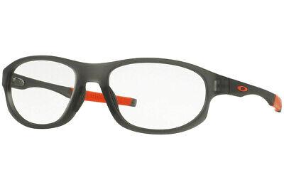 Oakley Crosslink Strike Men Eyeglasses Round (A) OX8048-04 Grey Smoke / Demo