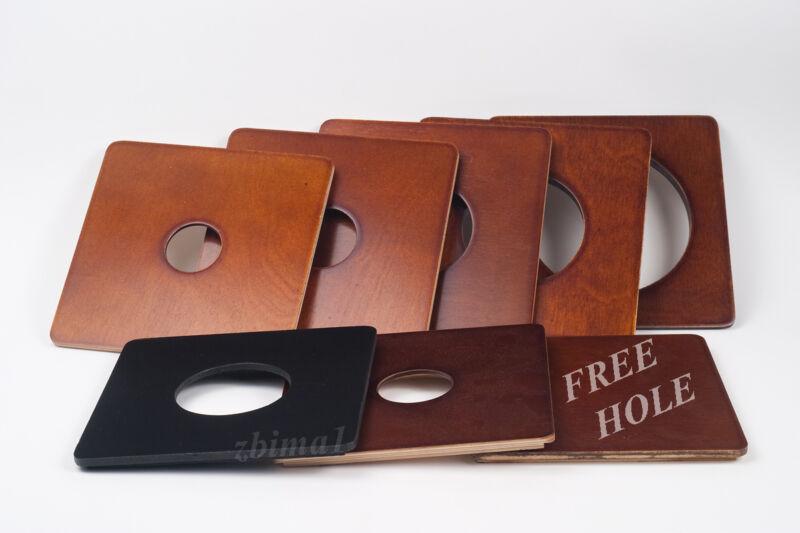 "1 Lens board 6x6""RC for Deardorff, or Calumet  C1 - 8 x10"" -made of 3/8"" plywood"