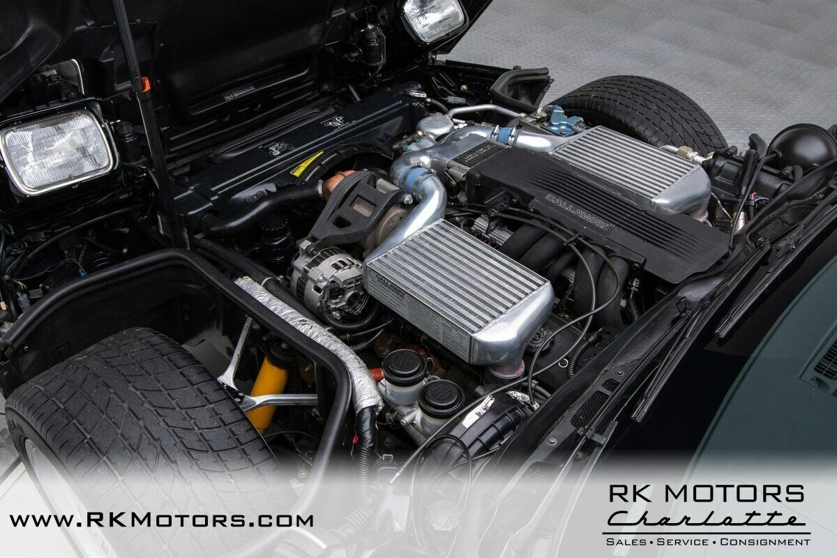 1988 Black Chevrolet Corvette Callaway  | C4 Corvette Photo 4