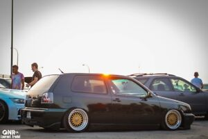 VW Golf MK3 1997 CL (Bagged AirLift)