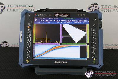 Olympus Omniscan Mx2 1664pr Ultrasonic Phased Array Flaw Detector Panametrics