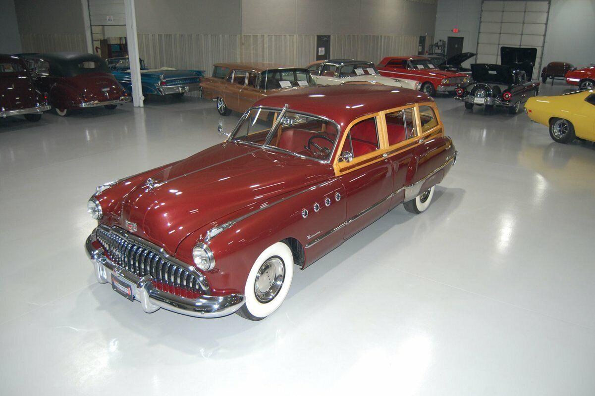 1949 Buick Roadmaster Estate Wagon (Used - 89995 USD)