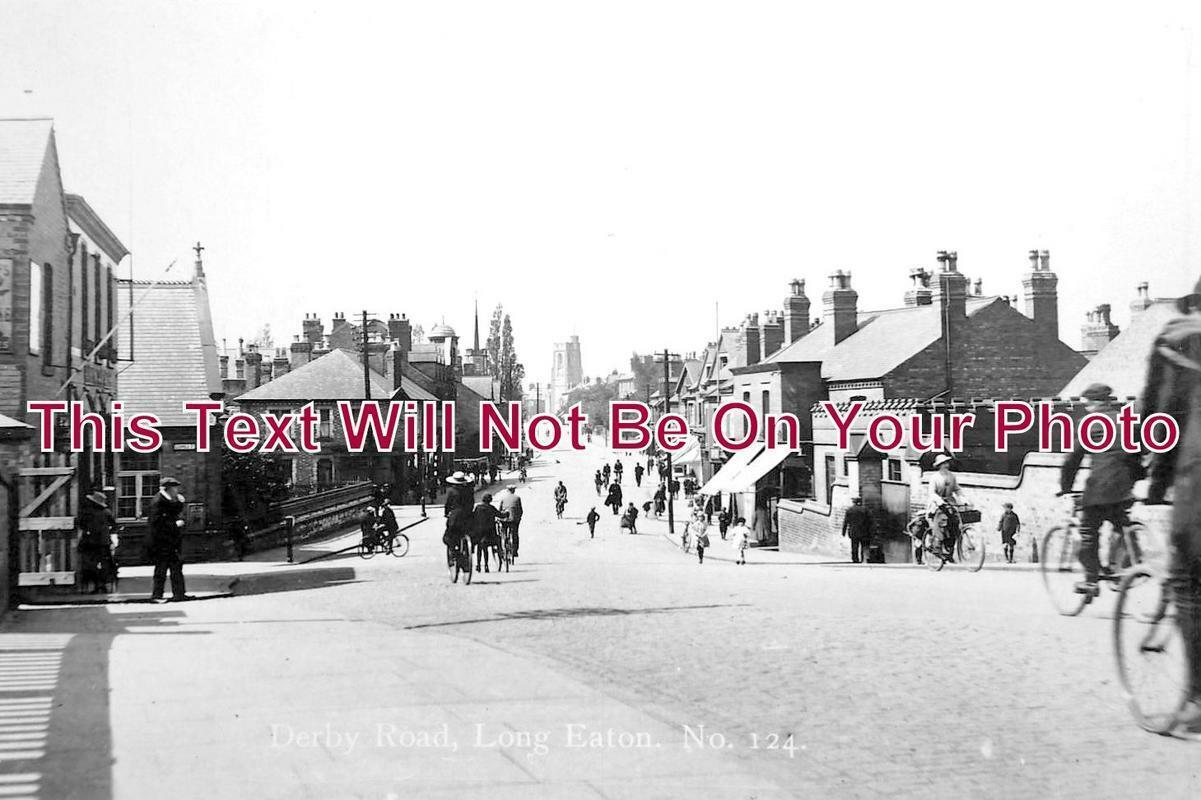 DR 1053 - Derby Road, Long Eaton, Derbyshire c1918