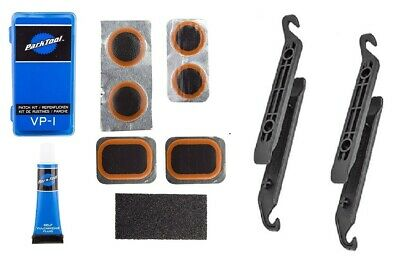 Patch Kit for Bicycle Tube AND 4 Tire Levers