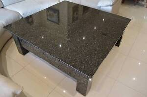 Granite Coffee / Dining Table 1.45m x 1.45m- 4 Drawers Ryde Ryde Area Preview