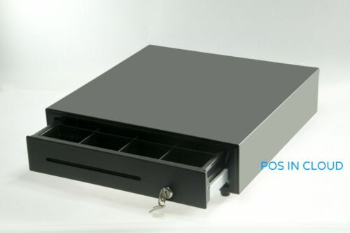 "Cash Drawer Heavy Duty 16"" w 5-BILL 8-COIN Tray Fits Epson Star POS Printer"