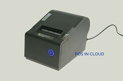 Pos P-822d Thermal Receipt Usb Network Rs-232 Printer Auto Cut Escpos Star