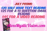 Alves Mystic Vision Psychic July Promo