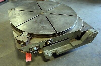 42 Inch Air Lift Tilting Rotary Table Inv.17258