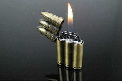 Bullet Windproof Jet Torch Butane Cigarette Lighter Refillable - One Lighter