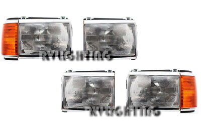 MONACO CROWN ROYAL 1993 1994 1995 HEADLIGHTS HEAD LIGHTS SIGNAL LAMPS RV - SET