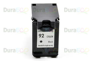 1 PK Reman HP 92 BK Ink C9362WN for HP DeskJet 5420, 5440, 5442, 5443, 6310