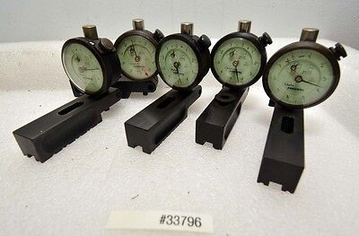 1 Lot Of 5 Mahr Federal 12i-rc-x Dial Indicators Inv.33796