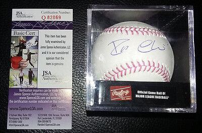 JSA COA Robinson Cano Signed Auto Autograph MLB Breast Cancer Pink Baseball Mets