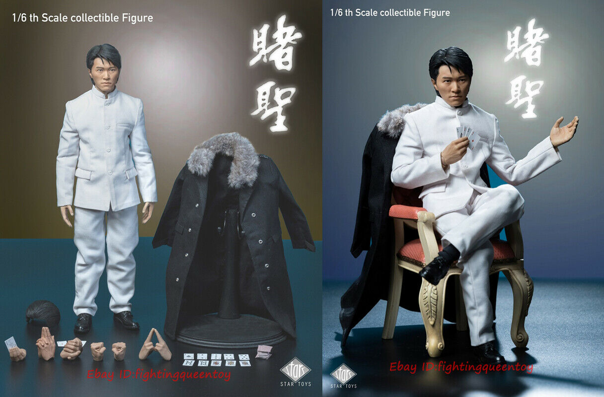 STAR TOYS 1//6 Man Action STT002 Stephen Chow 1//6 All for the Winner Zuo Songxing