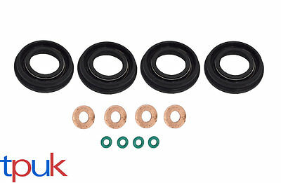 O.E FUEL INJECTOR SEAL + WASHER + ORING SET FOR CITROEN RELAY 2.2 HDi TDCi