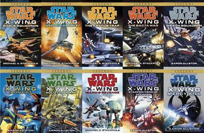 Star Wars Legends X-WING Series PAPERBACK Collection Set of Books 1-10