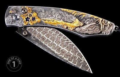 William Henry African Journey Knife