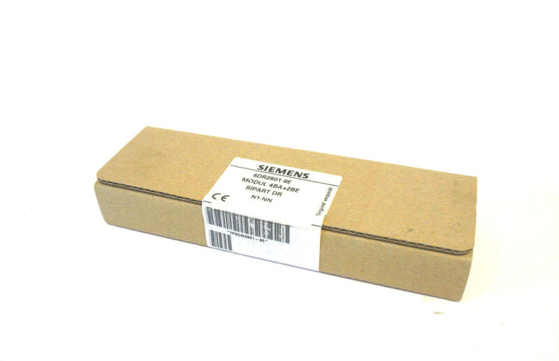 NEW SIEMENS 6DR2801-8E SIGNAL TRANSMITTER 6DR28018E