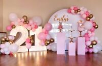 Decoration for baby & bridal showers, birthdays and weddings