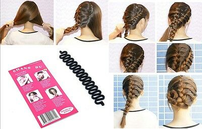French Hair braiding tool roller with magic hair twist styling barber maker tool