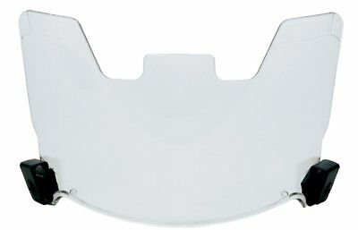 Clear View Protective Football Helmet Visor EYE Shield Molded Eyeshield FitsMost