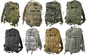 Military-Style-Level-III-Medium-Transport-MOLLE-Assault-Pack-Bag-Backpack-NEW