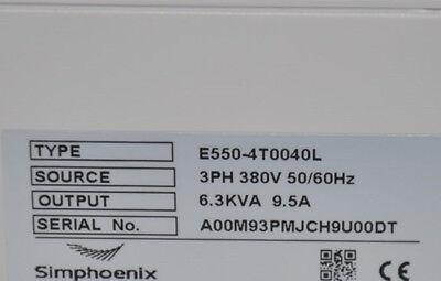 4.0kw 5hp 1000hz Vfd Inverter 3 Phase 380v To 3phase 0-380v For Cnc Spindle