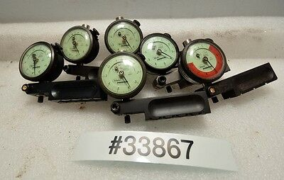 1 Lot Of 6 Mahr Federal 12i Dial Indicators Inv.33867