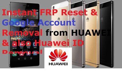 RAPID FRP/Google Account Bypass Removal Huawei Nova,P8,P9,P10,Honor 7,8,9