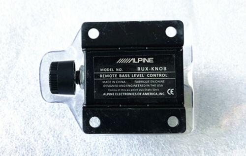 Alpine RUX knob remote control subwoofer amplifier control brand new