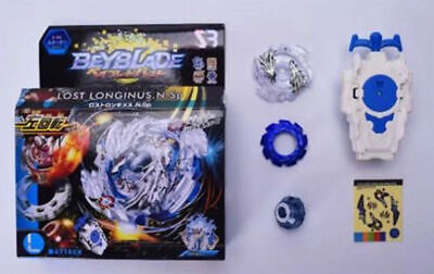 New Lost Longinus Beyblade Burst B-66 Starter Set w/ String Fight Launcher Gift