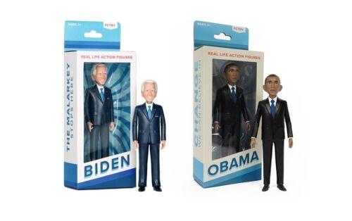 "Joe Biden + Barack Obama Action Figures 6"" New in BOX from FCTRY"